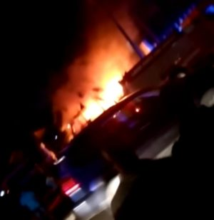 Breaking: Lagos Airport Hotel On Fire