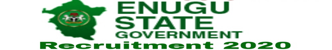 Enugu State Government Recruitment