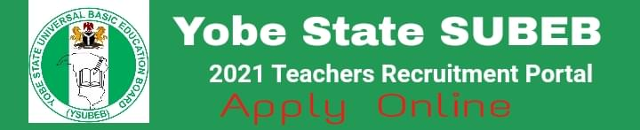 Yobe State SUBEB recruitment portal